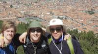 Students hanging out above Cusco |  <i>Eva Moon</i>