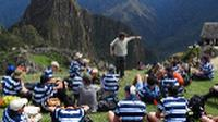 Students at Machu Picchu, Peru |  <i>Drew Collins</i>