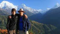 Father and son at Ghandruk |  <i>Brad Atwal</i>