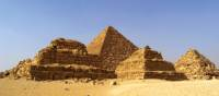 Gorgeous shot of the great Pyramids of Giza | Liz Rogan