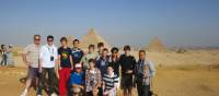 A school group at the Pyramids of Giza, Egypt | Mark Zannoni