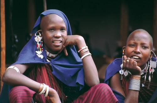 Traditional Masai women&#160;-&#160;<i>Photo:&#160;Chris Buykx</i>