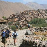 Trek to the welcoming mountain villages in Morroco's High Atlas Mountains   John Millen