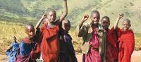 Happy Masai kids from Tanzania | Henning Mikkelsen