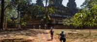 Exploring the ruins of Angkor Wat by bike is a unique way to discover the UNESCO listed site | Lachlan Gardiner