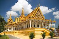The Royal Palace in Phnom Penh is the residence of King Sihanouk of Cambodia
