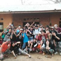 School group after finishing their community service project in Laos | KIS