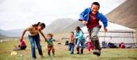 Local children enjoying themselves, Mongolia | Cam Cope