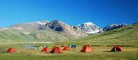 Mongolian campsite Kharkhiraa region | Tim Cope