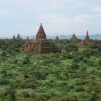 Temples in Bagan | Kate Harper
