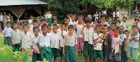 Local school children, Myanmar | Kate Harper
