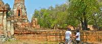 Admiring a historical park in Thailand | Sue Badyari