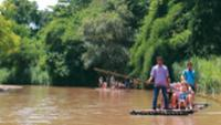 Bamboo Rafting in the Mae Rim Valley, Thailand |  <i>Rachel Imber</i>