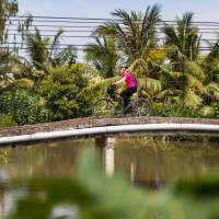 Beautiful colour as we cycle the Mekong Delta | Lachlan Gardiner