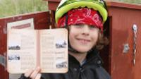 Stamping the passport on the Otago Rail Trail |  <i>Gesine Cheung</i>