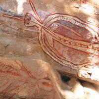Rock art in Arnhem Land | Liz Rogan