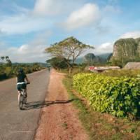 Cycling through the verdant Vinales Valley in Cuba | Carlie Ballard