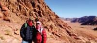 Ascending Jabal Umm ad Dami | Sue Badyari