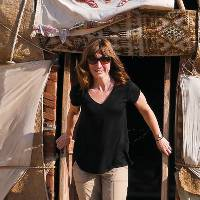 Yurt accommodation in Uzbekistan |  <i>Natalie Tambolash</i>