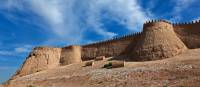 The city wall surrounding Khiva | Peter Walton