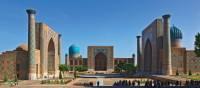 The beautiful Registan Square in Samarkand | Peter Walton