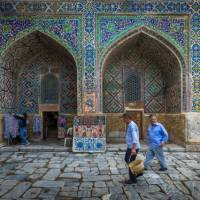 Ulugbek Medressa, Registan, Samarkand | Richard I'Anson