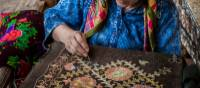Observe intricate needlework in Bukhara | Richard I'Anson
