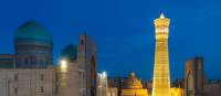 Kalon Minaret at dusk in Bukhara, a Silk Road highlight | Richard I'Anson