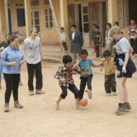 Playing soccer with local children in Vietnam | Nick Hardcastle