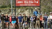 Students getting ready for the Inca Trail |  <i>Eva Moon</i>
