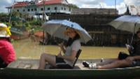 Travelling down the Mekong River