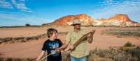 Learn from the traditional custodians of the land in Rainbow Valley | Tourism NT/Shaana McNaught
