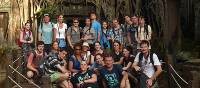 Schoolies group at Angkor Wat | John Nichol