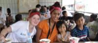 Making friends in Cambodia