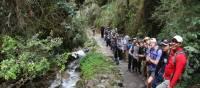 School group trekking in Peru | Drew Collins