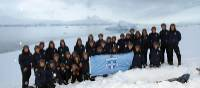 We were one of the first companies to assist a school group to Antarctica | Brendan Stewart