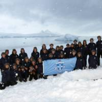 We were one of the first companies to assist a school group to Antarctica   Brendan Stewart