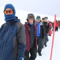 A visit to Antarctica is the ultimate educational experience for students   Brendan Stewart