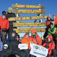 Grimaces of pain become smiles of joy as we reach the top of Africa | Chloe Ryan