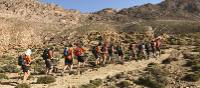 Students trekking the High Atlas, Morocco | Gareth Davies