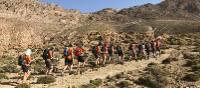 Students trekking the High Atlas, Morocco | Gareth Davies