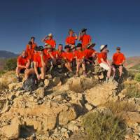 Group shot on a school trip abroad   Gareth Davies