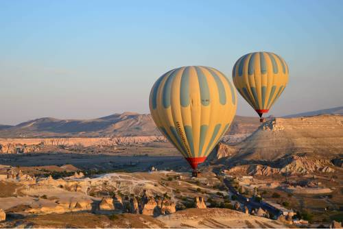 Balloons taking off in Cappadocia&#160;-&#160;<i>Photo:&#160;Erin Williams</i>