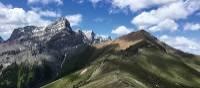 The beautiful Cory & Edith Pass hike near Banff, Alberta