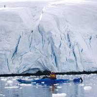 Kayaking in Antarctica   Valerie Waterston