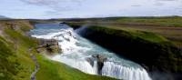 "Gullfoss (translated as ""Golden Falls"") is Iceland's most popular waterfall"