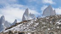 Trekking beneath Mont Fitz Roy in Patagonia |  <i>David Taylor</i>