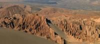 Lunar landscape in Valle de la Muerte, Chile | Caroline Mongrain