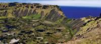 Experience breathtaking views when you climb Rano Kau on Easter Island | Heike Krumm