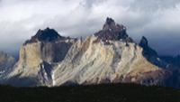 The Cuernos del Paine are easily distinguished by their exposed granite centres, which contrast sharply with the dark peaks |  <i>Maria Visconti</i>